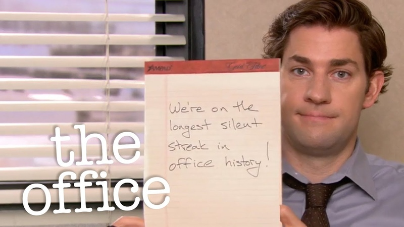 Dunder Mifflin is A Quiet Place - The Office US
