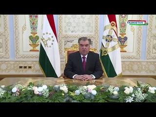 Новогоднее обращение президента Таджикистана Э.Ш.Рахмона (Tajikistan HD, )