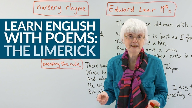 Fun Easy English with Poems THE LIMERICK