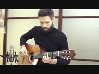 theToughBeard сыграл на гитаре кавер KAZKA - ПЛАКАЛА