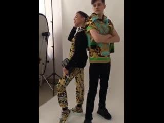 "модели ""Photomodel style"" на фотосессии для ""Grand Boutique"" (backstage)"