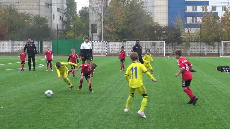 Вардар-2011 1:0 Ростов-2011 Первенство Ростова 19.10.2019 10:10