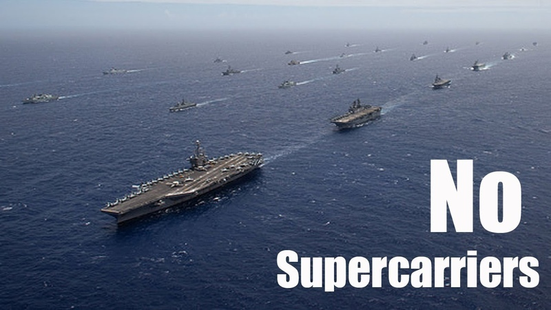 Why If the U.S. Navy Never Built 'Supercarriers'?