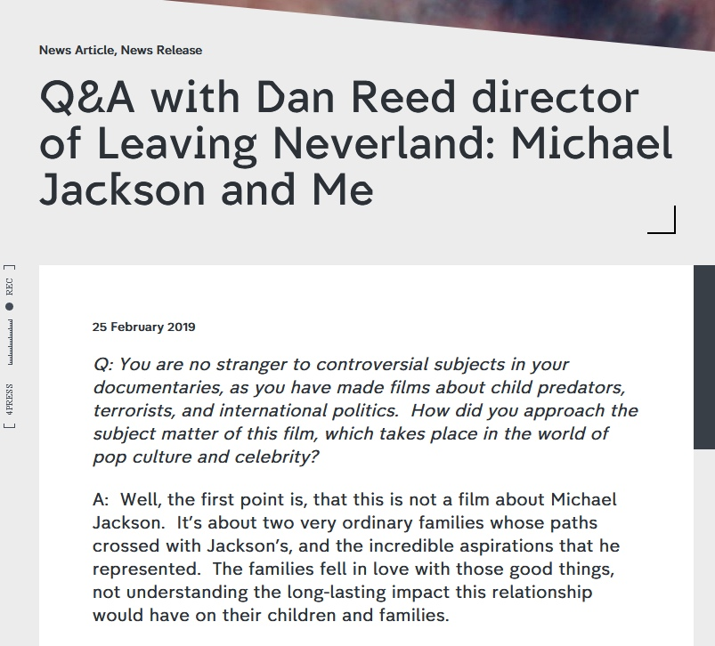Как связаны Leaving Neverland и Kew Media Distribution (KMD)?, изображение №13