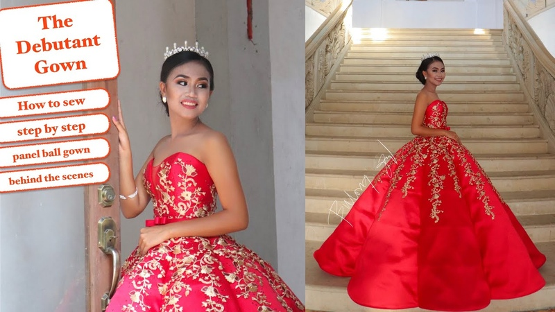 I made my Client Debut Panel Ball Gown - Aprilyns 18th Birthday | Vlog 2