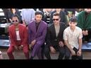 Ricky Martin, Jwan Yosef,, Paris Brosnan, Joe Jonas and more front row at Berluti Menswear Fashion S