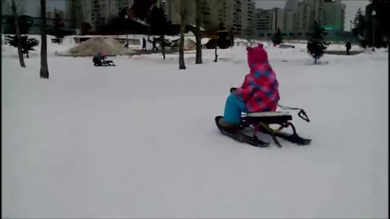 Снегокат Тимка от Nika Краткий обзор снегоката