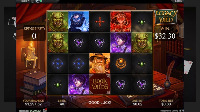 Новый слот LEGACY OF THE WILD на ПокерСтарс!Slot machine on PokerStars