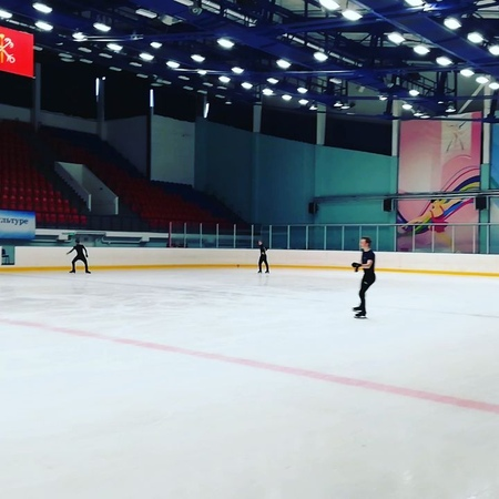 Nikolaj Majorov on Instagram: Side by side 3lz with @mikhail kolyada figureskating jump edeafamily @theskatinglesson @edeaskates @johnwilso