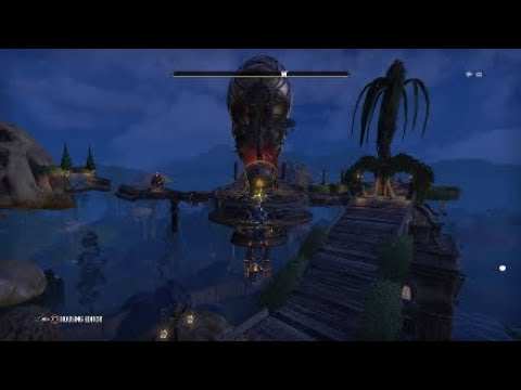 Eso housing Tamriel's first zeppelin with motion at 600cap
