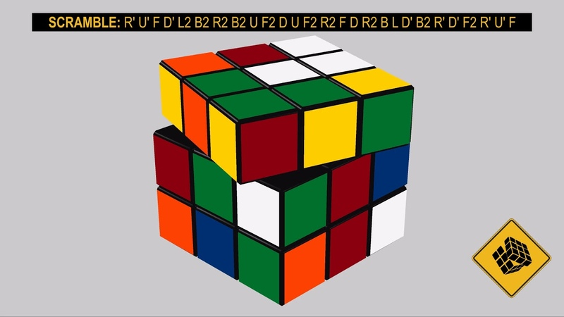 3x3 Cube FMC WR Single Harry Savage [17 Moves]