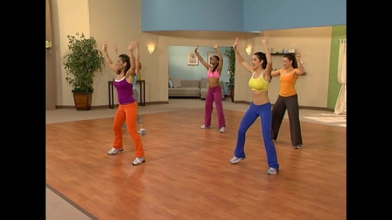 Худей танцуя Зажигательная Сальса Dance Off the Inches Sizzling Salsa 2006