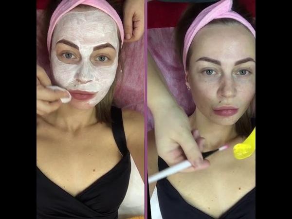 Уход за лицом после чистки лица у косметолога Activel от Eldan