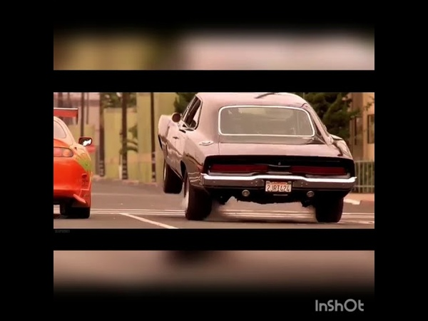 The Fast and The Furious Dominic Vs Brian Ending Race featImran Khan Satisfya