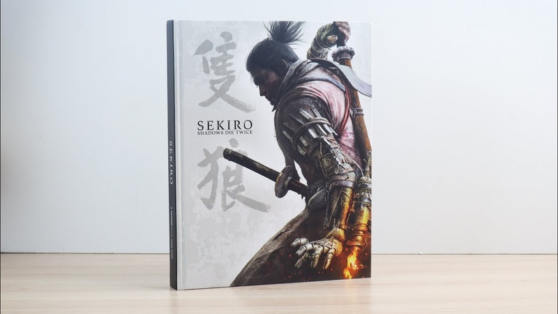 Sekiro Shadows Die Twice Guide Unboxing / Распаковка