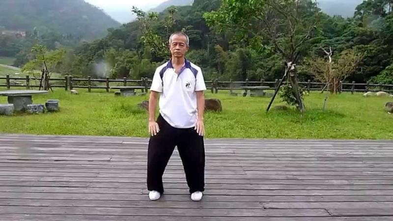 方祖豪太極八段錦練習記錄片 - 內湖大溝溪親水步道