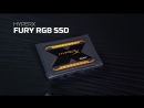 HyperX FURY RGB SSD with 3D NAND 240GB 480GB 960GB