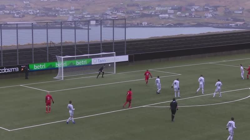 Фарерские острова 1 дивизион 2019 год Б68 Б36 II