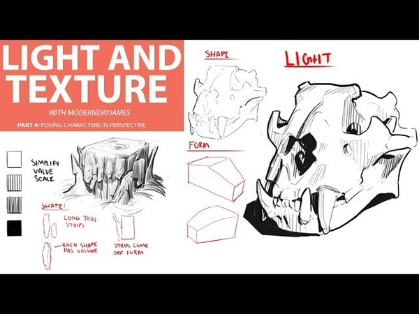 TEXTURE: DRAWING IN SHAPE AND LIGHT