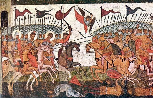 Битва новгородцев и суздальцев в 1170 году
