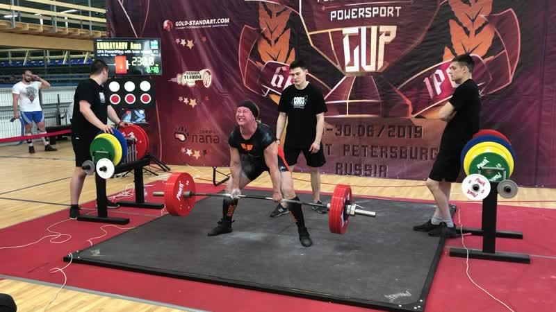 Khudayarov Anna становая тяга 230 кг