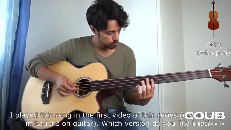 Instruments imitations on BASS guitar