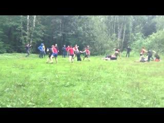 Russian football hooligans fight - examination in bravo tbp (spartak) vs some loko