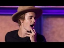 Justin Bieber Gives Swoon-Worthy Lip Sync of 'Big Girls Don't Cry'