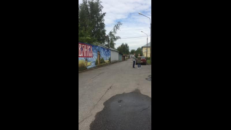 13.07.2019г. Депутат Белоусова консультируется с Бенкендорфом (Михайловым)