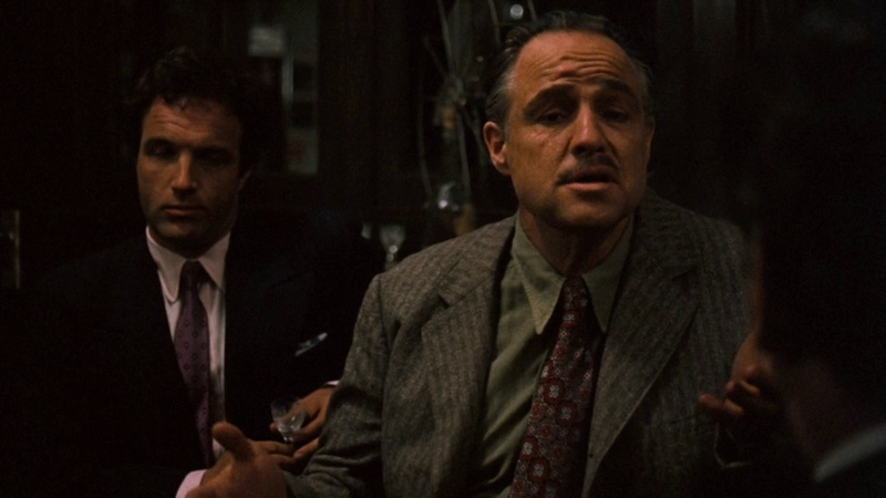 Переговоры Дона Корлеоне и Соллоццо известного как Турок Ошибка Сантино