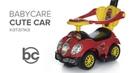 Babycare Cute Car, каталка с ручкой. Музыкальный руль!