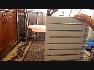 Как добавить секции в радиатор отопления - Заметки строителя