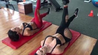Workout Motivation with Bikini Pro Model ANA COZAR