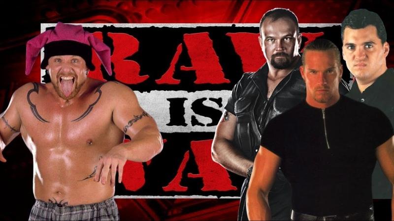 WWE 2K19 Droz vs Test w/The Corporation, Raw Is War '99