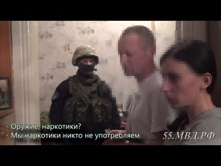 Задержание подозреваемых в вымогательстве и разбое