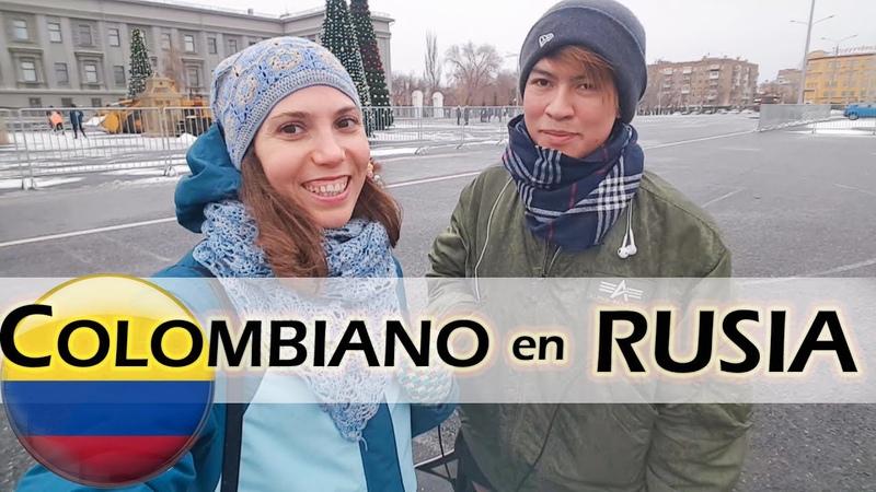 COLOMBIANO opina de RUSIA y de los RUSOS Extranjeros por el mundo