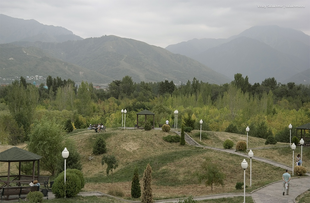 Пейзажи Парка Первого Президента, Алматы 2019
