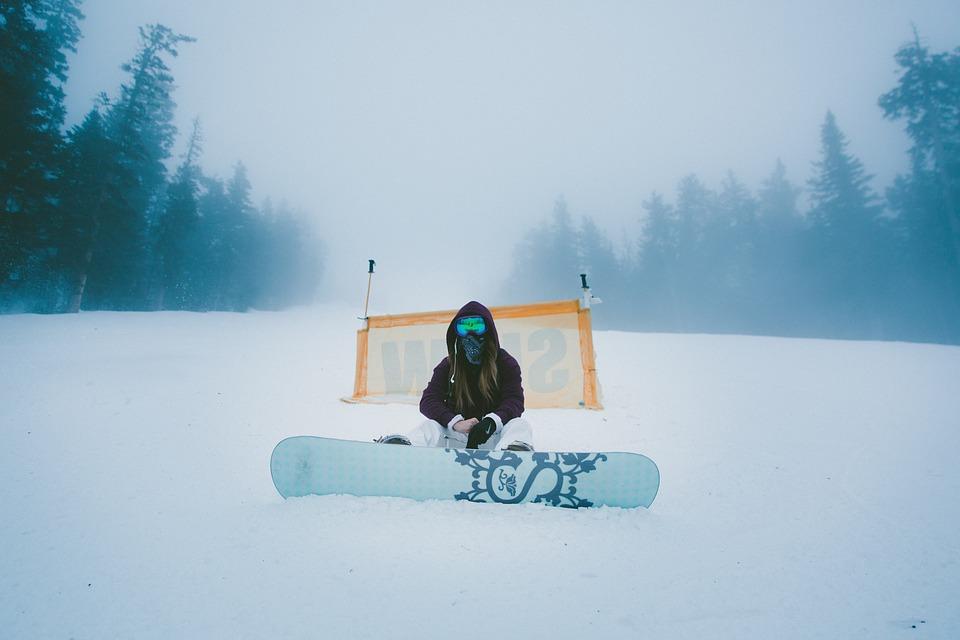 развлечения зимой в Москве