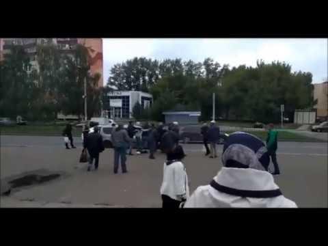 Драка таксистов в Нижнекамске