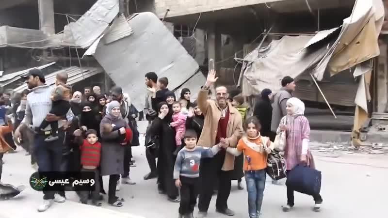 L'armée syrienne entre dans la Ghouta orientale libérée