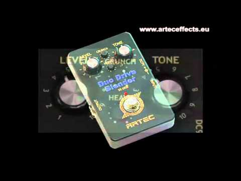 Artec Duo Drive Blender Soundsample
