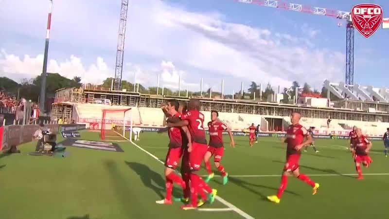 Ligue 1 Видеообзор матча Дижон 4 2 Лион 3 й тур 27 08 2016г Сезон 2016 2017