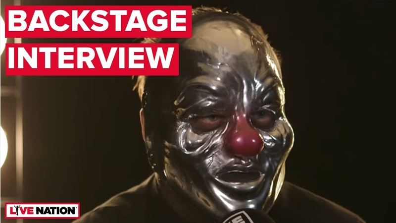 Slipknot's Shawn 'Clown' Crahan Backstage Interview