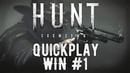 Hunt: Showdown - Берём топ1 в Quickplay! Win 1