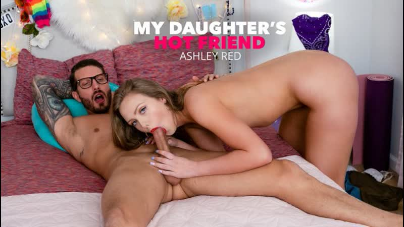 My Daughters Hot Friend Ashley Red gets Wet and Strips Down For Friend s