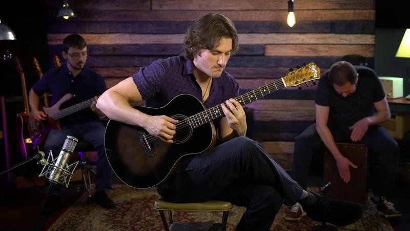 Washburn Bella Tono Novo Acoustic Guitar Demo