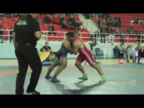 Revazi Nadareishvili Mate Sopadze Final GR 97 kg Georgian Cup 2019 Batumi
