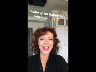 Susan Sarandon/ Instagram stories