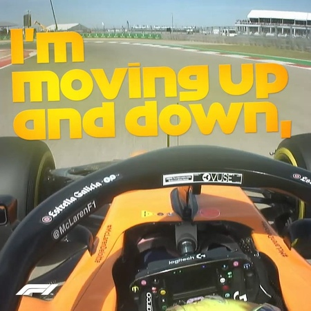"""FORMULA 1® on Instagram: """"A singalong *and* P3 in FP3 = a rollercoaster day already for Lando 🎧 🕺 😁 . F1 Formula1 USGP USA Texas COTA LandoNorris McLaren…"""""""