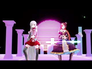 """[UTAU/MMD] """"iiya, iiya, iiya"""" Cover ft Sukone Tei and Namine Ritsu"""